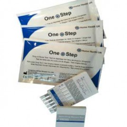 25 x Drug Test Kit 6 Panel  (COC/OPI/AMP/BZO/BUP/EDDP)