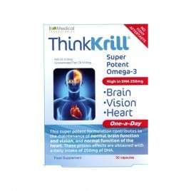 Think Krill Brain Vision Heart Capsules